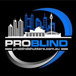 Website Logo, Problind Shutters.com.au